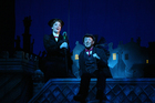 Mary Poppins stars Rachel Wallace and Matt Lee in action.  Photo / Chris Gorman