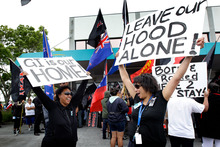 Poor brown families in Glen Innes are being forced out of their homes to make way for high-income housing. Photo / NZ Herald