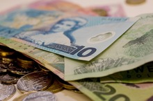 The New Zealand dollar fell, closing at US81.57c, down from US81.82c. Photo / APN
