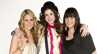 From left: Anna Hutchison, Alix Bushnell and Bronwyn Turei have starred in the show.