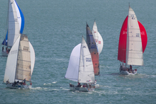Yachts sail around North Head during the Coastal Classic. Photo / File