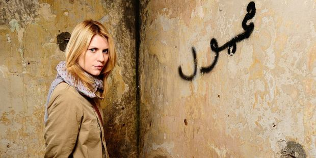 Claire Danes in Homeland. Photo / Supplied