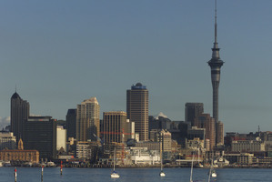Auckland Council executives have travelled to New York, London, Zurich and Tokyo to arrange finance to pay for items ranging from trains to office furniture. Photo / Paul Estcourt