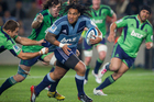 Ma'a Nonu as a Blue this year, but there is a fear he could be switching sides to the Highlanders. Photo / Greg Bowker