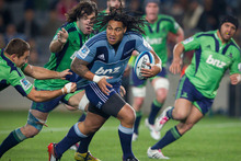 Ma'a Nonu will stay in New Zealand. Photo / Greg Bowker