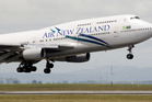 An Air New Zealand Boeing 747-400 flight to Vancouver was compromised with a shipment of dangerous goods. Photo / Paul Estcourt