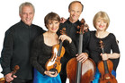 New Zealand String Quartet members. Photo / Supplied