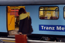 A man's been charged with assault after an incident on a Wellington train this morning. Photo/Ross Setford