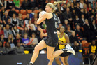 Silver Ferns captain Casey Williams is becoming frustrated by her injury. Photo / NZPA