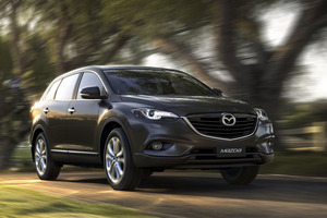 The new look Mazda CX-9.  Photo / Supplied