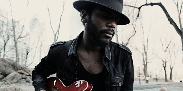 Gary Clark Jnr was first influenced by greats Jimi Hendrix, Albert Collins and Stevie Ray Vauhgan. Photo / Supplied