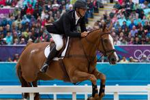 Andrew Nicholson in action at the Olympics. Photo / Brett Phibbs