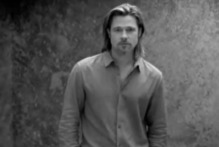 Brad Pitt is the first male spokesperson for Chanel No.5.Photo / YouTube