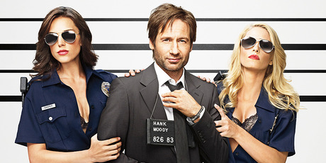 David Duchovny as Hank in Californication. Photo / Supplied