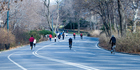 Joggers and cyclists going through Central Park. Photo / Thinkstock