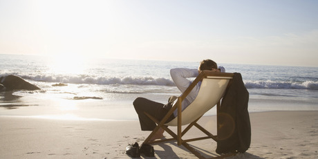 Entrepreneurs would go nuts just sitting on a deck chair at the beach. Photo / Thinkstock