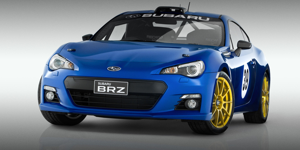Possum Bourne Motorsport-prepared Subaru BRZ racecar. Photo / Supplied