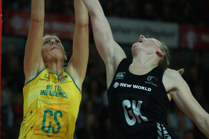 Katrina Grant was vital for the Ferns in the Constellation Cup.Photo / Getty Images