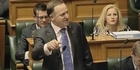 Watch: John Key under attack about GCSB and Kim Dotcom