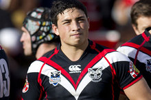 Warriors player Kevin Locke. Photo / Sarah Ivey