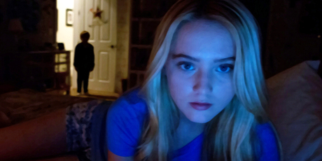 A scene from found footage film Paranormal Activity 4. Photo / AP
