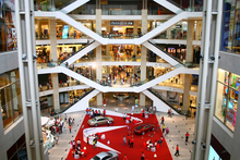The atrium at Pavilion Mall is breathtaking. Photo / Tourism Malaysia