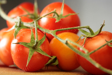 You can grow your own tomatoes in a container on a deck. Photo / Thinkstock
