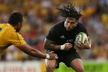 Ma'a Nonu in action during the third Bledisloe Cup test in Brisbane. Photo / Getty Images