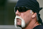 Excerpts from Hulk Hogan's sex tape will remain online for now after a court ruling. Photo / AP