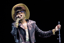 Lauryn Hill performs at Raggamuffin in 2010. Photo / Ben Fraser/Daily Post 
