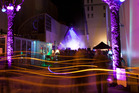 Thousands of residents turned out for the LUXCITY event. Photo / Supplied