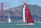 Prada Team Luna Rossa Pirhana. Photo / Alex Robertson.