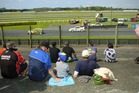 Fans at Pukekohe Park Raceway. Photo / Jason Dorday