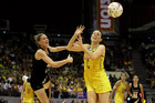 Casey Williams and Natalie von Bertouch compete fiercely on the court, but have recently been under an injury cloud. Photo / Getty Images