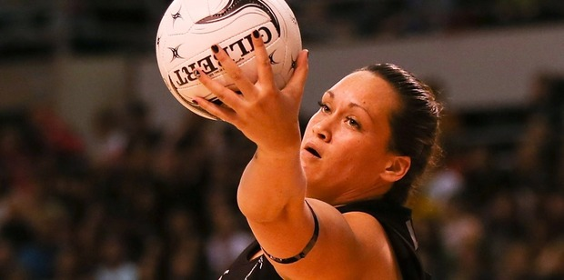 Shooter Cathrine Latu is experiencing difficulties without Temepara George. Photo / Getty