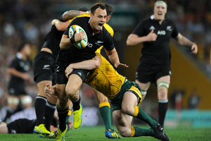 Israel Dagg lamented the draw with Australia and his team's performance. Photo / Getty Images