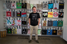 Rob Ewan's Mr Vintage T-shirt business now has more than eight staff and a $3 million to $5 million turnover. Photo / Richard Robinson