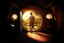 Peter Jackson's film interpretation of Bilbo's hobbit hole. Photo / Supplied