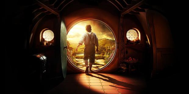 Peter Jackson's film interpretation of Bilbo's hobbit hole. Photo / Supplied