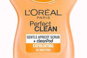 L'Oreal Perfect Clean Gentle Apricot Scrub - $12.99. Photo / Supplied