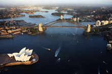 As the world's 12th largest economy Australia is in good economic health but there are concerns remain ahead over the course of global events. Photo / Getty Images 
