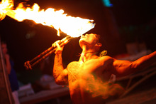 A Hawaiian fire dance performance was one of the items Auckland ratepayers have helped pay for on Auckland Council credit cards.