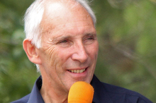 Phil Liggett, a long-time supp