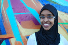 Fardowsa Mohamed is NZ-born of Somali descent, and says sometimes she doesn't know where she belongs. Photo / NZ Herald