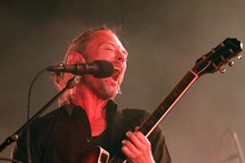 Thom York, lead singer of English rock band Radiohead. Photo / AP