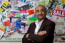 Doug Patel says technology has eroded the market for letterbox drops.  Photo / Sarah Ivey