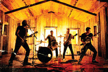 Nickelback. Photo / Supplied