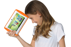 A new tablet that claims to be the safest for kids with built-in Wi-Fi. Photo / Supplied