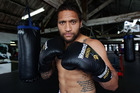 Manu Vatuvei is shaping up for a charity boxing match - hopefully against one of the All Blacks. Photo / Doug Sherring