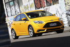 The new Ford Focus ST, launched this week in New Zealand. Photo / Supplied
